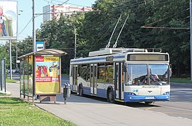 Image illustrative de l'article Trolleybus de Moscou