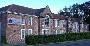 Malvern Hills College - Malvern Hills College main building. Built 1928