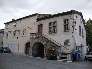 Saïx - The town hall in Saïx