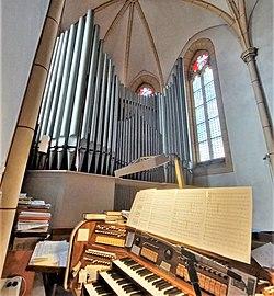 Saarbrücken-Burbach, St. Eligius (Weise-Orgel, Prospekt) (11).jpg