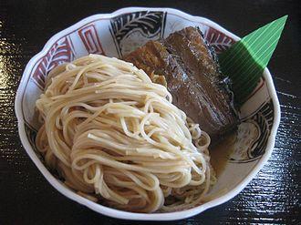 Nagahama, Shiga - Nagahama yaki-saba sōmen