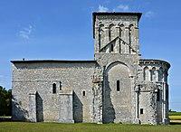 Saint-Aulais-la-Chapelle 16 Église de Conzac SSE 2013.jpg
