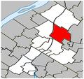 Saint-Charles-sur-Richelieu Quebec location diagram.PNG