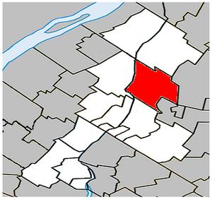 Saint-Charles-sur-Richelieu, Quebec - Image: Saint Charles sur Richelieu Quebec location diagram