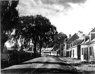 Saint-Henri, Montreal - Saint-Henri's Les Tanneries, 1859.
