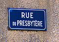 Saint-Hilaire-d'Ozilhan Rue du presbytère.JPG