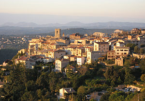 Saint-Jeannet, Alpes-Maritimes - The old village of Saint-Jeannet