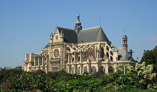 Saint Eustache church, in Paris
