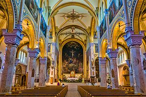 Saint Francis Xavier Cathedral (Green Bay, Wisconsin) - Saint Francis Xavier Cathedral Interior