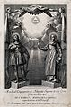 Saint Isidore of Madrid and Saint Mary of La Cabeza. Engravi Wellcome V0033180.jpg