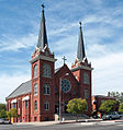 Saint Marys Parish in Red Bluff California September 2006.jpg