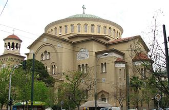 Agios Panteleimonas, Athens - The cathedral of Agios Panteleimonas