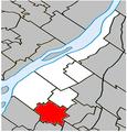 Sainte-Julie Quebec location diagram.PNG