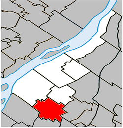 Sainte-Julie Quebec location diagram.PNG