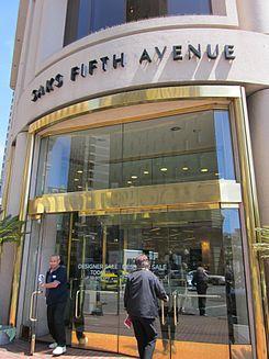 Saks Fifth Avenue SF main entrance.JPG