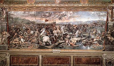 Battaglia di costantino contro massenzio for Decorazione stanze vaticane