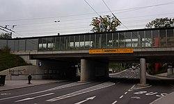 Salzburg - Lehen - Bahnhaltestelle Salzburg Aiglhof - 2012 10 23 - 1.jpg