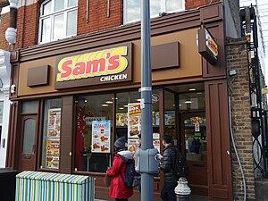 King Street, Hammersmith - Image: Sam's Chicken, King Street, Hammersmith
