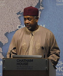 Sambo Dasuki, National Security Adviser to President Goodluck Jonathan, Nigeria (16160741168).jpg