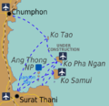 Samui Archipelago Transportation Map.png
