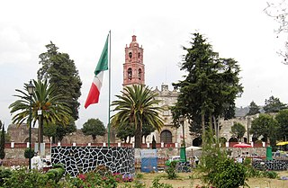 Tlalmanalco Town & Municipality in State of Mexico, Mexico