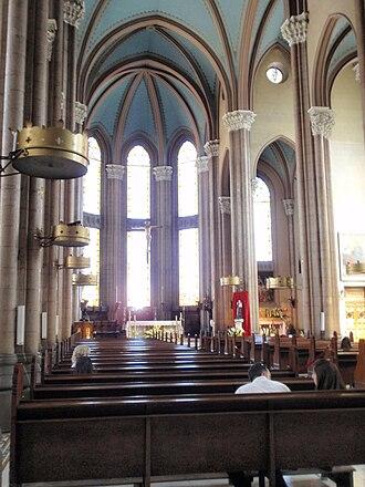 Church of St. Anthony of Padua, Istanbul - Image: San Antuan Kilisesi 2