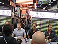 San Diego Comic-Con 2011 - Jonah Hill and the cast of Allen Gregory (Fox booth) (6039247277).jpg