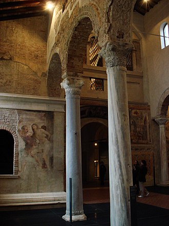 Ansa, Queen of the Lombards - San Salvatore, Brescia, internal