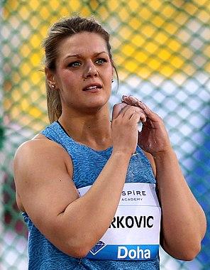 Sandra Perković Doha 2015