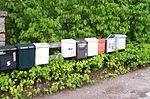 Sandvik (Öland), mailboxes.jpg