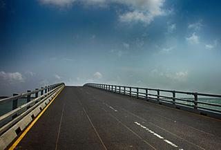 Sangupiddy Bridge bridge in Sri Lanka