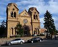 Santa Fe, New Mexico in October 2011 - The Cathedral Basilica of Saint Francis of Assisi.JPG