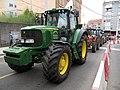 Santiago, tractorada do 14 de xulo de 2009 01.jpg