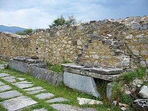 Ivan Vladislav of Bulgaria - The sarkophaguses of Bulgarian Tsars Samuil, Gavril Radomir and Ivan Vladislav in Agios Achilios, Greece.