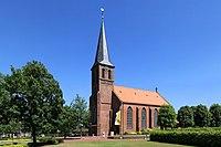 Saterland Scharrel - Kolpingplatz + St. Peter und Paul 01 ies.jpg