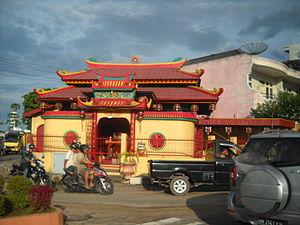 Pangkal Pinang - A Chinese Temple in Pangkal Pinang