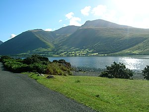2012 Summer Paralympics torch relay - Image: Scafell Pike