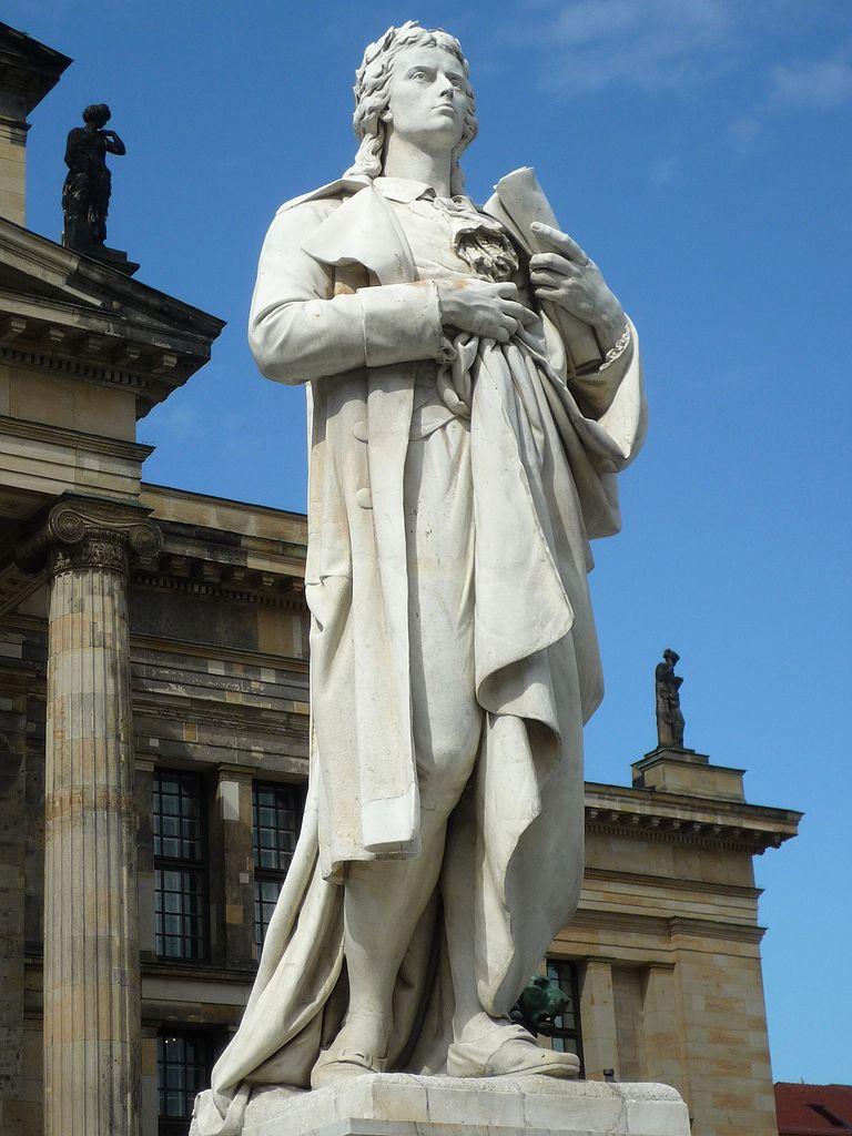 File:Schillerdenkmal Berlin, Begas,Statue 1.jpg