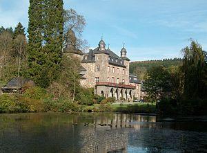 Gimborn Castle - Image: Schloss Gimborn 2010 Ste Di 3
