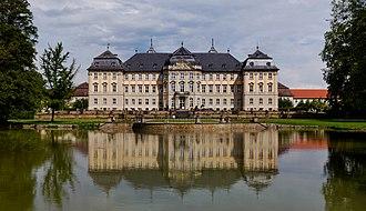 Werneck - Schloss Werneck palace in Werneck, by Balthasar Neumann