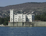 The Castle of Miramare.