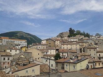 Ovindoli - Image: Scorcio fotografico di Ovindoli borgo antico