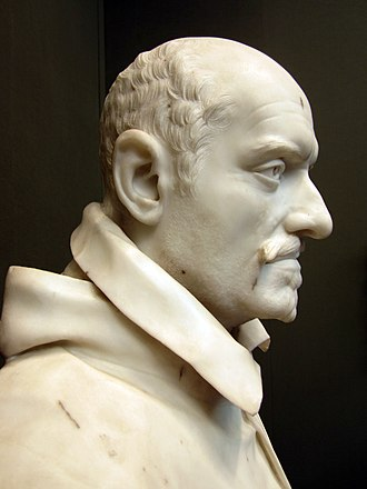 Bust of Alessandro Peretti di Montalto - Image: Sculpture of Cardinal Montalto by Bernini