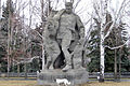 Sculpture of soldier, who supports a wounded comrade 001.jpg