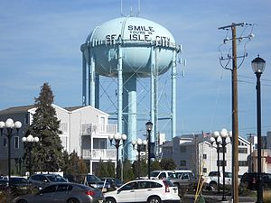 Sea Isle City, New Jersey - Watertower