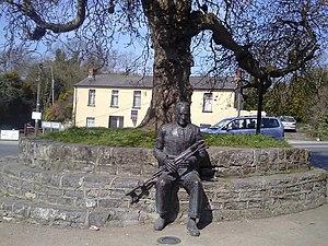 Séamus Ennis - Seamus Ennis statue in Naul, Dublin