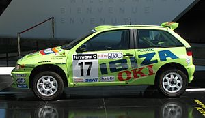 FIA 2-Litre World Rally Cup - Image: Seat Ibiza Kit Car