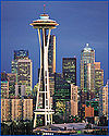 The Space Needle is Seattle's most recognizable landmark