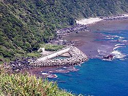 Seawater intake-outlet of Yanbaru Power Station.jpg