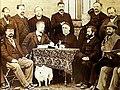Sebastian Kneipp mit Dr. Alfred Baumgarten zusammen mit den Gründern des Kneipp-Ärztebundes 1894.jpg